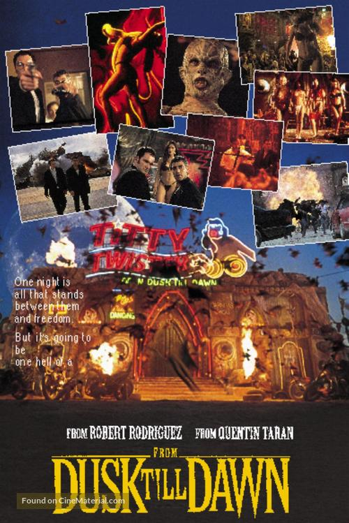 From Dusk Till Dawn - DVD movie cover
