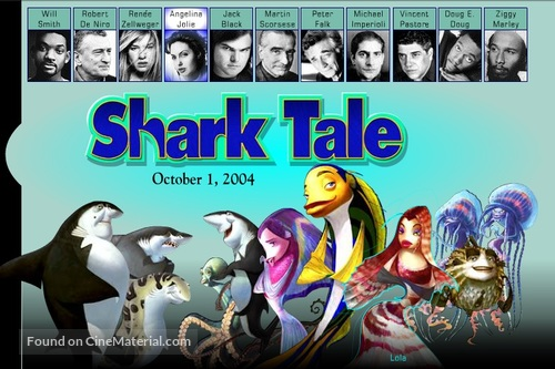 Shark Tale 2004 Movie Poster