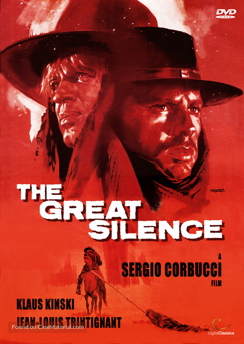 Il grande silenzio - British DVD movie cover