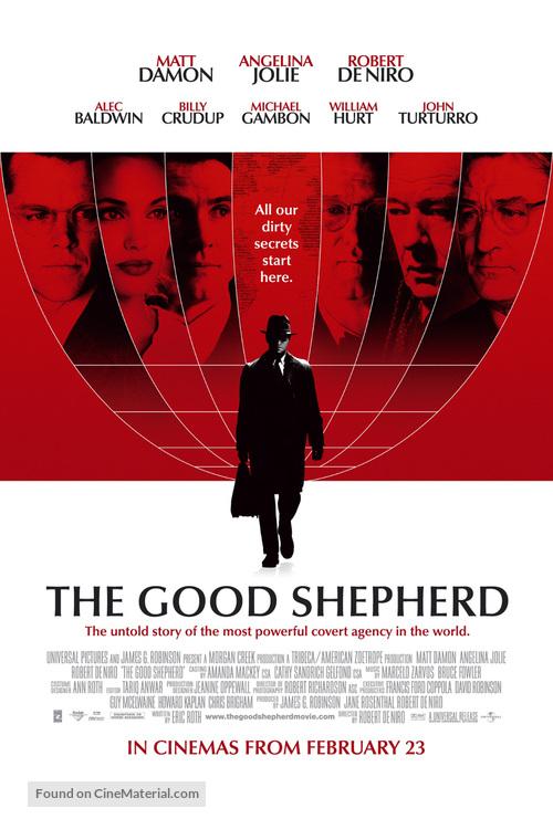 The Good Shepherd - British Movie Poster