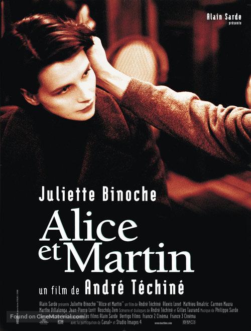 Alice et Martin - French Movie Poster