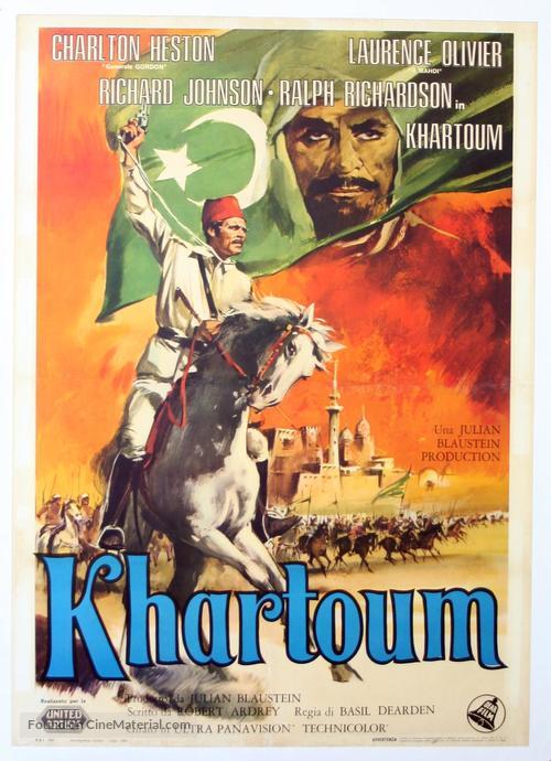 Khartoum - Italian Movie Poster