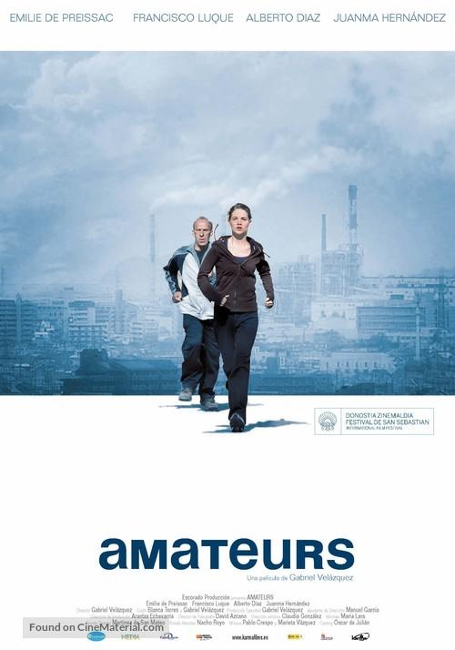 Amateurs - Spanish Movie Poster