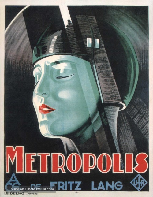 Metropolis - Belgian Movie Poster