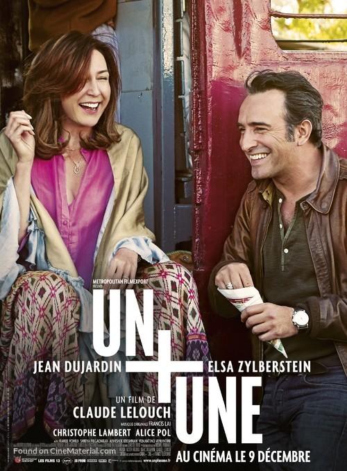 Un Plus Une 2015 French Movie Poster