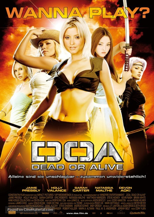 Dead Or Alive - German Theatrical poster