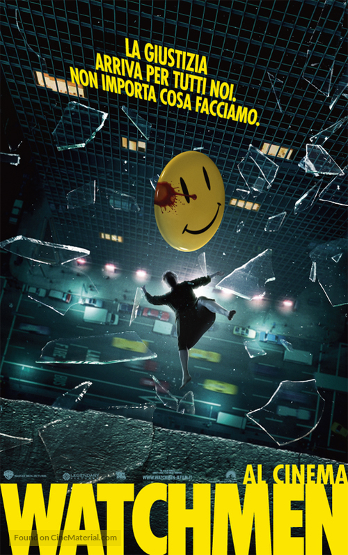 Watchmen - Italian Movie Poster