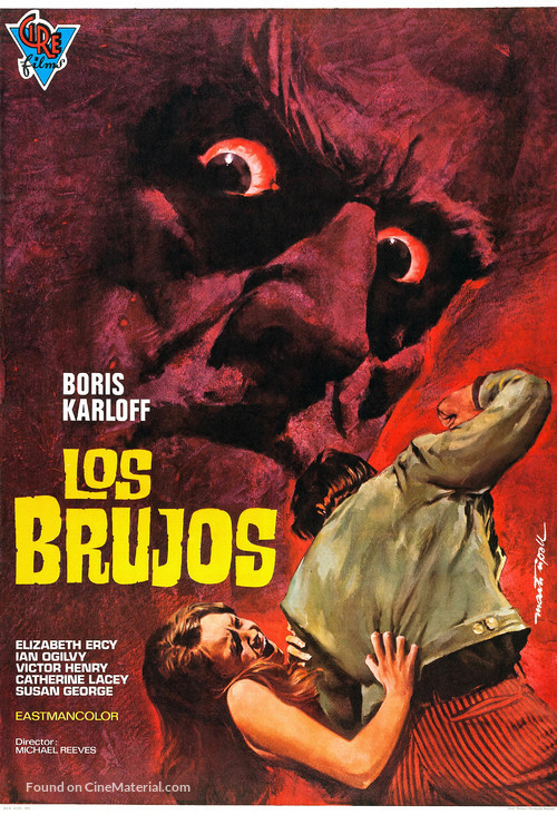 The Sorcerers - Spanish Movie Poster