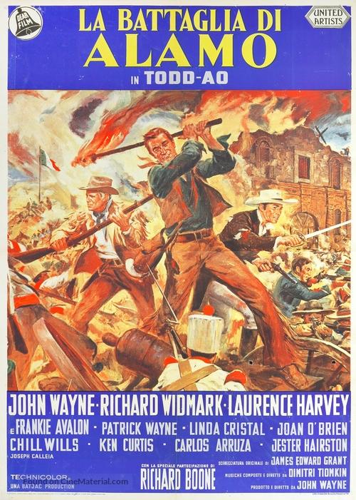The Alamo - Italian Movie Poster