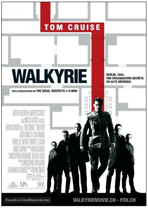 Valkyrie - Swiss Movie Poster