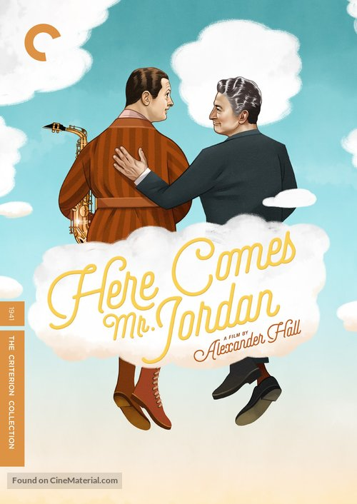 Here Comes Mr. Jordan - DVD movie cover
