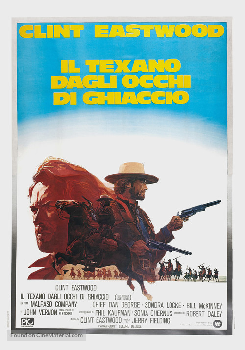 The Outlaw Josey Wales - Italian Movie Poster