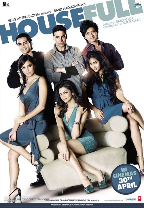 Housefull - Indian Movie Poster