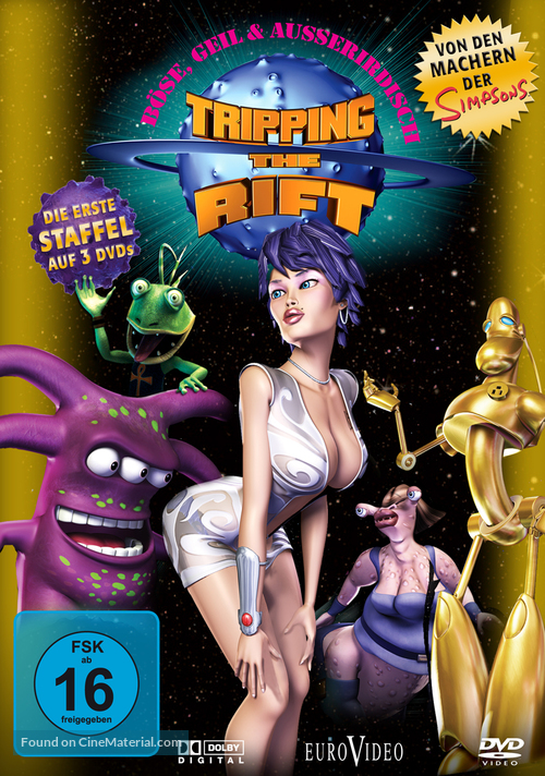 """""""Tripping the Rift"""" - German Movie Cover"""