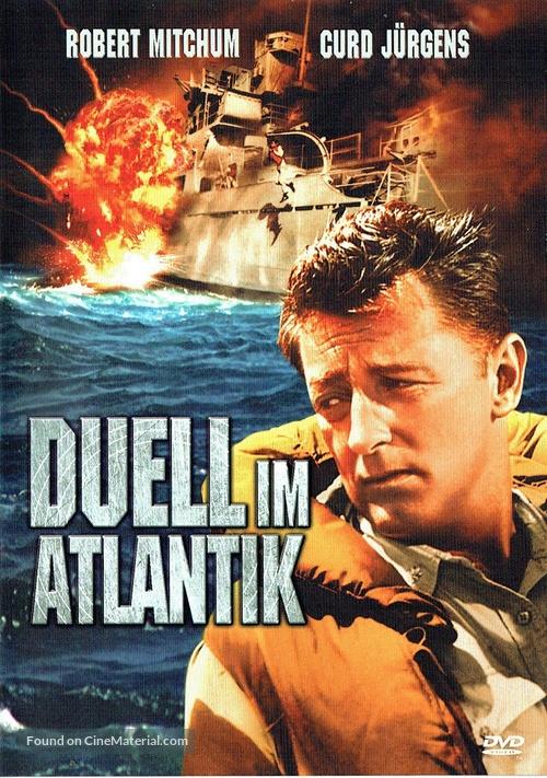 The Enemy Below - German DVD movie cover