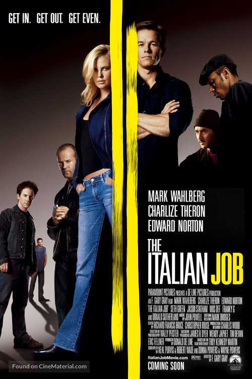 The Italian Job - Movie Poster