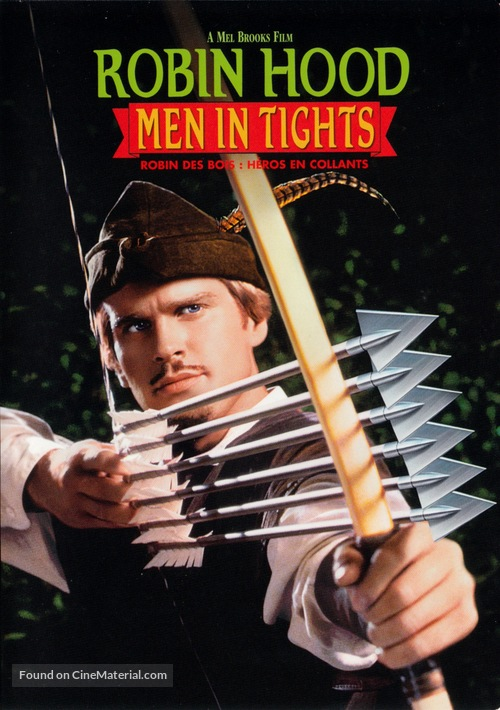 Robin Hood: Men in Tights - Canadian DVD movie cover