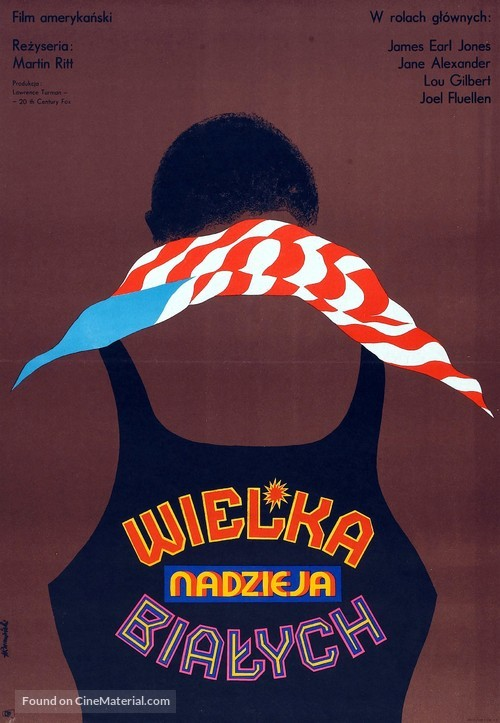 The Great White Hope - Polish Movie Poster