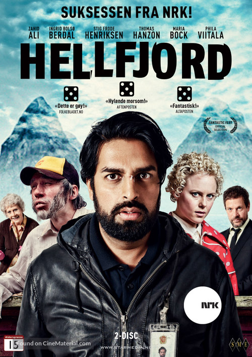 """Hellfjord"" - Norwegian DVD movie cover"