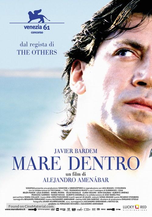 Mar adentro - Italian Movie Poster