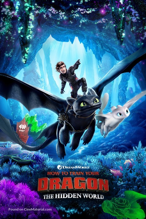 How to Train Your Dragon: The Hidden World - British Movie Cover
