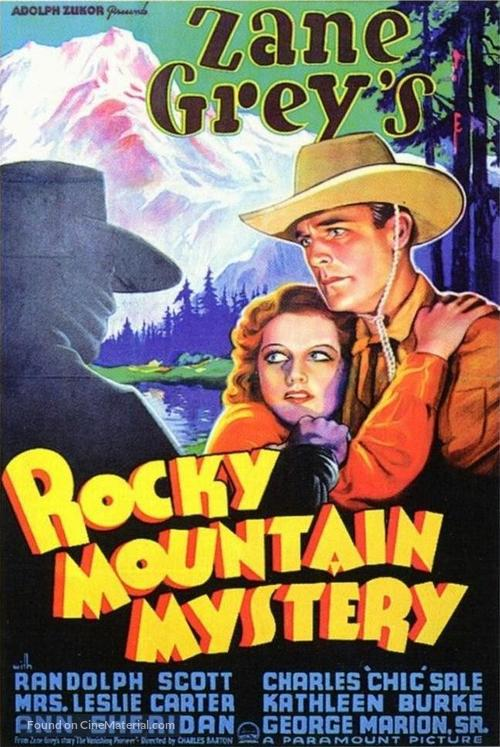 Rocky Mountain Mystery - Movie Poster