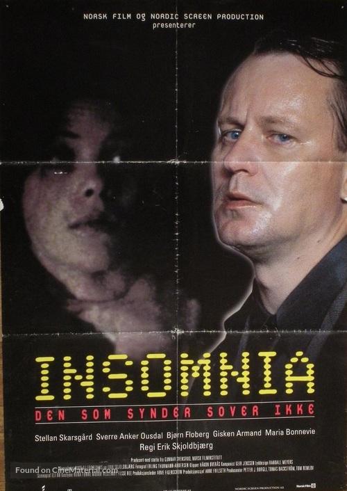 Insomnia - Norwegian Movie Poster