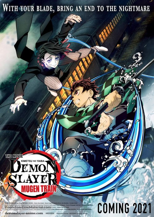 Kimetsu no Yaiba: Mugen Ressha-Hen - Movie Poster
