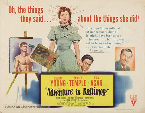 Adventure in Baltimore - Movie Poster