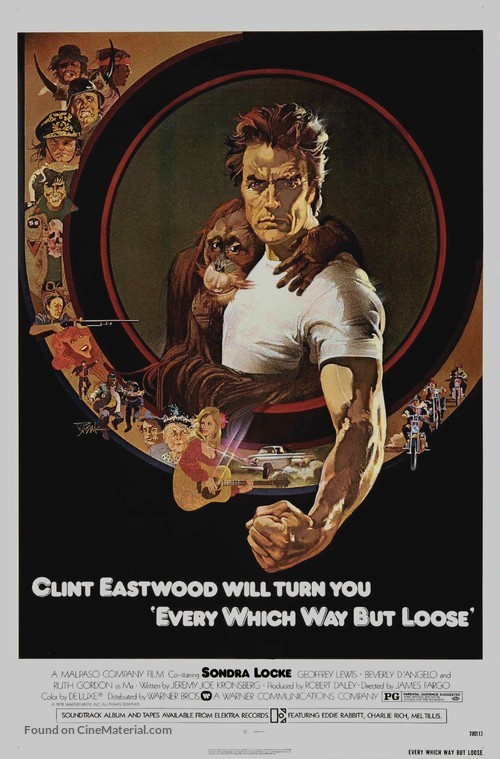 Every Which Way But Loose - Movie Poster