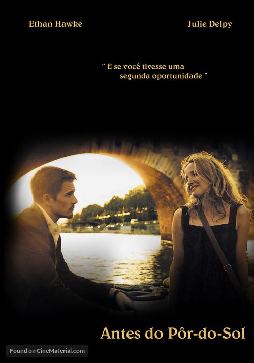Before Sunset - Brazilian Movie Poster
