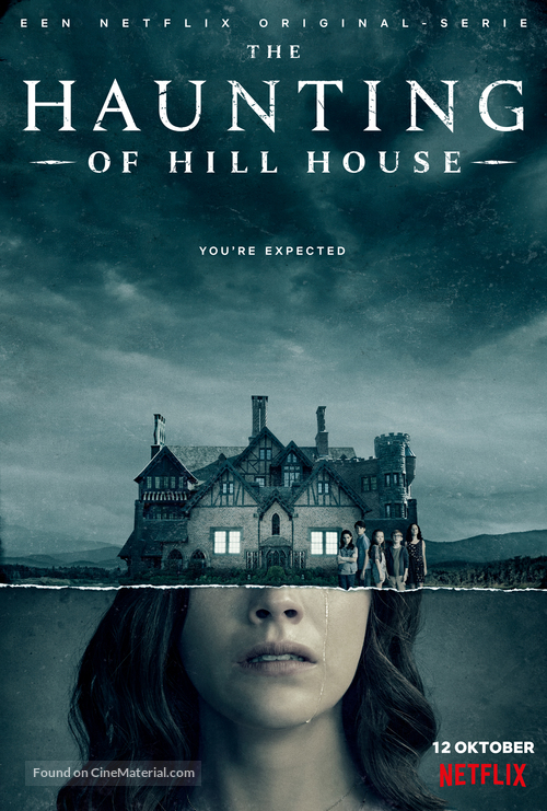 """The Haunting of Hill House"" - Dutch Movie Poster"