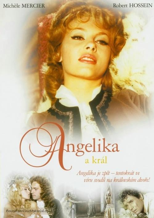Angélique et le roy - Czech DVD movie cover