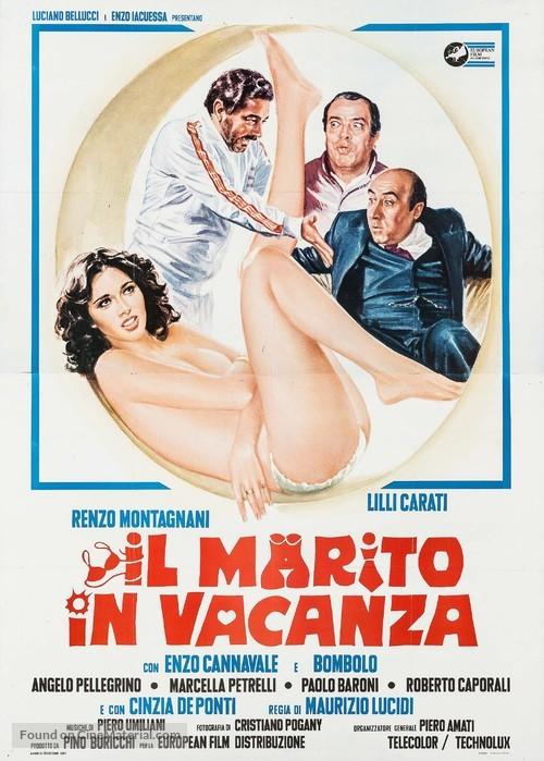 Il marito in vacanza - Italian Movie Poster