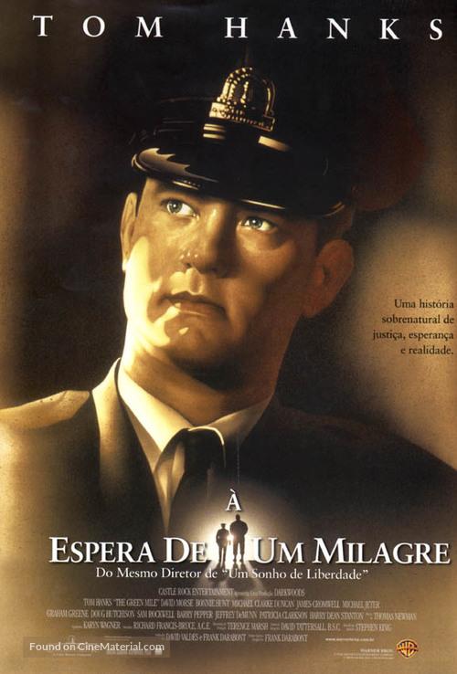 The Green Mile - Brazilian Movie Poster