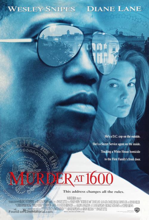 Murder At 1600 - Movie Poster