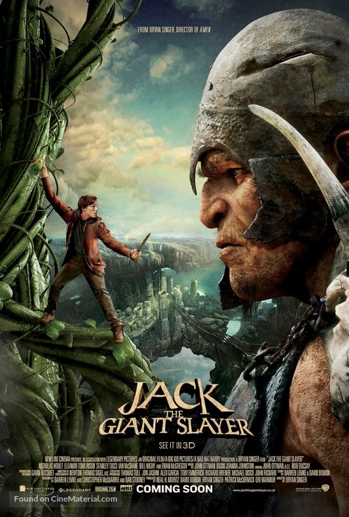 Jack the Giant Slayer - British Movie Poster
