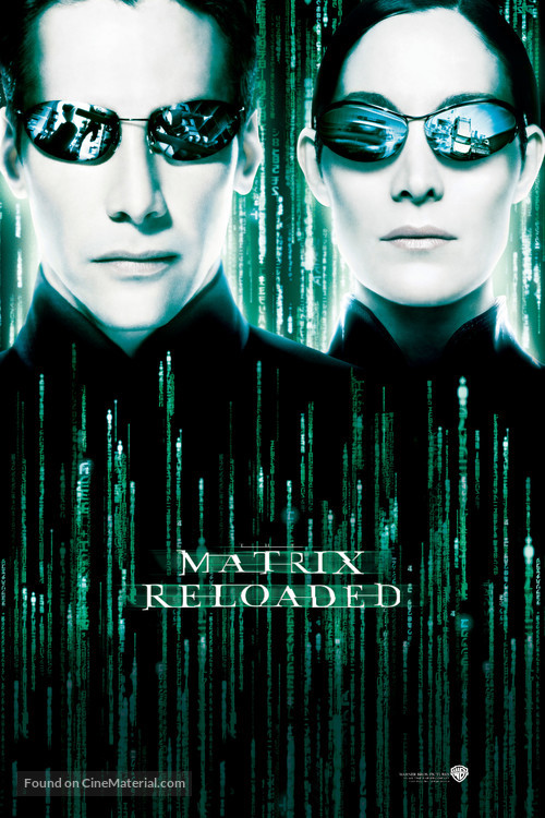 The Matrix Reloaded - Movie Poster
