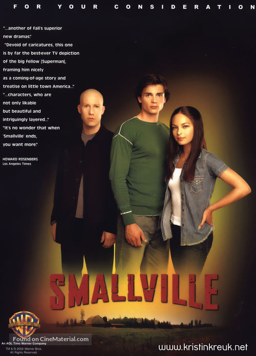 """""""Smallville"""" - For your consideration movie poster"""