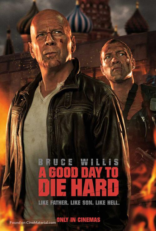 A Good Day to Die Hard - British Movie Poster