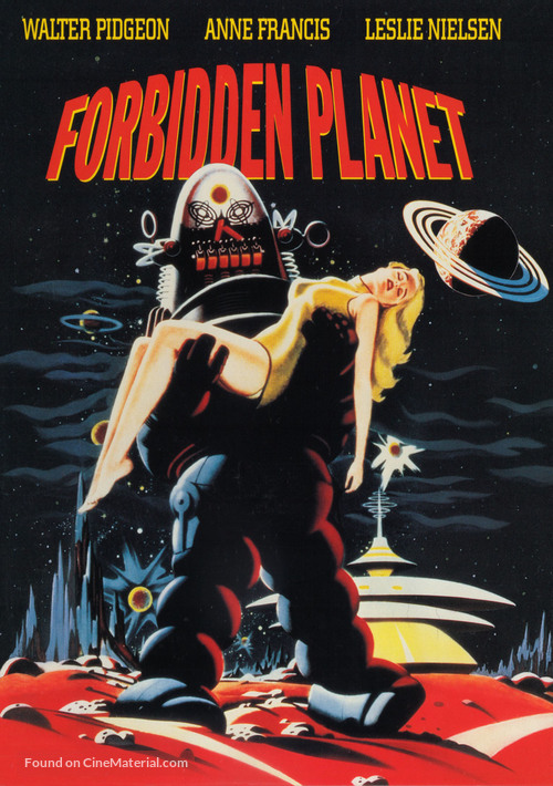 Forbidden Planet - DVD movie cover