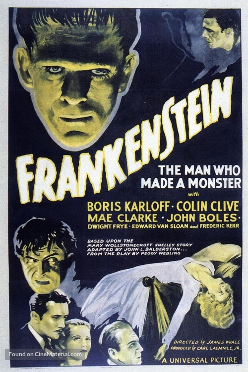 Frankenstein - Movie Poster