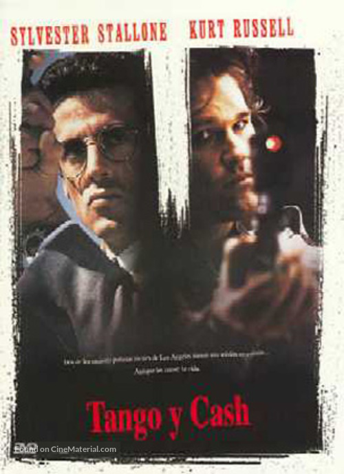 Tango And Cash - Spanish DVD movie cover