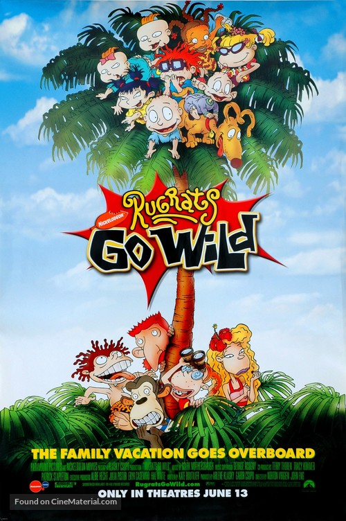 Rugrats Go Wild! - Movie Poster