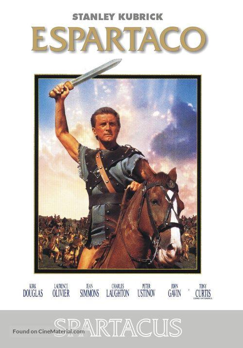 Spartacus - Spanish DVD movie cover