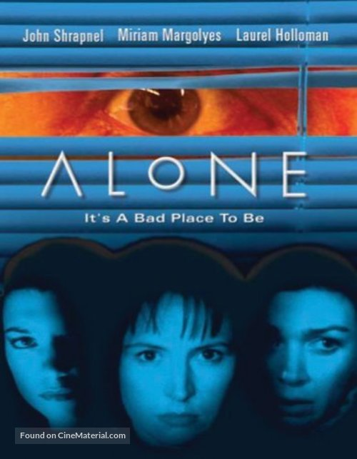 Alone - British DVD cover