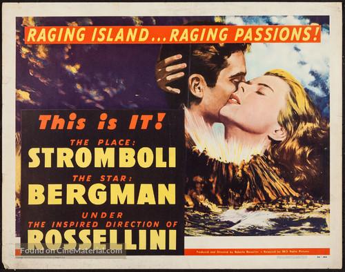 Stromboli - Movie Poster