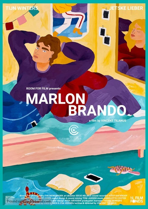 Marlon Brando - Dutch Movie Poster