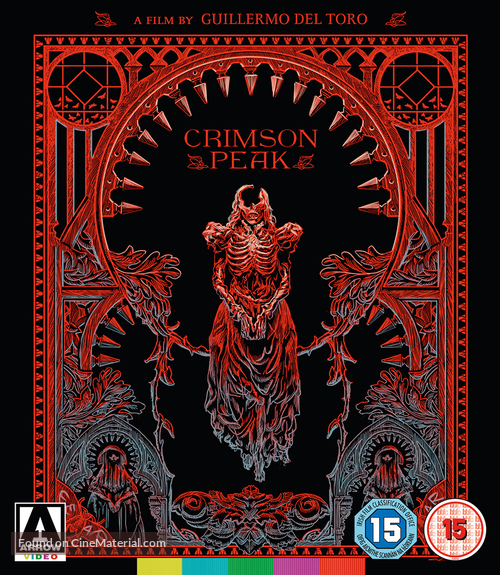 Crimson Peak - British Blu-Ray movie cover