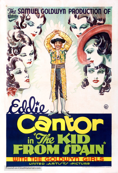 The Kid from Spain - Movie Poster